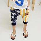 กางเกงขาสามส่วนลูกครึ่งอังกฤษ-สีเหลือง-(5ตัว/pack)