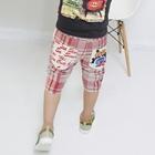 กางเกงขาสามส่วน-LEVIS12-สีแดง-(5ตัว/pack)