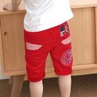 กางเกงขาสามส่วน-US_UK-สีแดง-(5ตัว/pack)