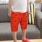 กางเกงขาสามส่วนค้างคาว-สีส้ม-(5ตัว/pack)