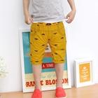 กางเกงขาสามส่วนค้างคาว-สีเหลือง-(5ตัว/pack)