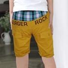 กางเกงขาสามส่วน-Burger-Rock-สีเหลือง-(5ตัว/pack)