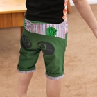 กางเกงขาสามส่วนแพนด้าตากลม-สีเขียว-(5ตัว/pack)