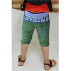 กางเกงขาสามส่วน-SUPERTM-สีเขียว-(5ตัว/pack)