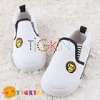รองเท้าเด็ก-BABY-MILO-สีขาว-(5-คู่/แพ็ค)