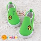 รองเท้าเด็ก-BABY-MILO-สีเขียว-(5คู่/แพ็ค)
