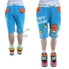 กางเกงขาสามส่วน-Angry-Bird-สีฟ้า-(5size/pack)