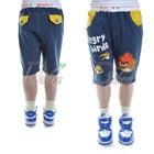 กางเกงขาสามส่วน-Angry-Bird-สีกรม-(5size/pack)