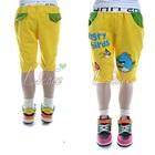 กางเกงขาสามส่วน-Angry-Bird-สีเหลือง-(5size/pack)