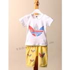 ชุดเสื้อกางเกง-Adidas-สีเหลือง-(5ตัว/pack)