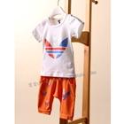 ชุดเสื้อกางเกง-Adidas-สีส้ม-(5ตัว/pack)