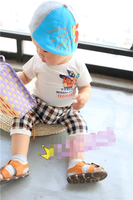 ชุดเสื้อกางเกง TEDMAN'S สีน้ำตาล (5ตัว/pack)