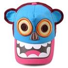 หมวกแก๊ปกะโหลกหมี-สีฟ้า-(5ชิ้น/แพ็ค)