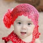 ผ้าคาดหัวสไตล์ลาติน-สีแดง-(5ชิ้น/แพ็ค)