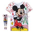 เสื้อยืดแขนสั้น-Mickey-Mouse-สีขาว-(6size/pack)