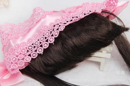ผ้าคาดหัวผมหน้าม้าหวานๆ สีชมพูเข้ม (5 ชิ้น/แพ็ค)
