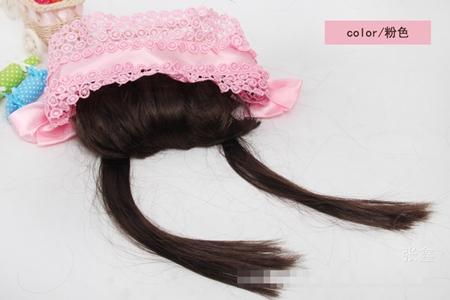 ผ้าคาดหัวผมหน้าม้าหวานๆ สีชมพู (5 ชิ้น/แพ็ค)