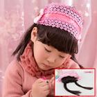ผ้าคาดหัวผมหน้าม้าหวานๆ-สีชมพู-(5-ชิ้น/แพ็ค)