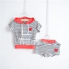 ชุดเสื้อกางเกง-Play-Jogging-สีขาวดำเล็ก(5ตัว/pack)