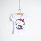 เสื้อแขนสั้น-Kitty-USA-สีขาว-(5ตัว/pack)