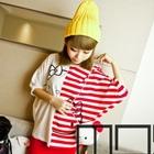 เสื้อแขนสั้น-Hello-Kitty-ลูกครึ่ง-สีแดง(5ตัว/pack)