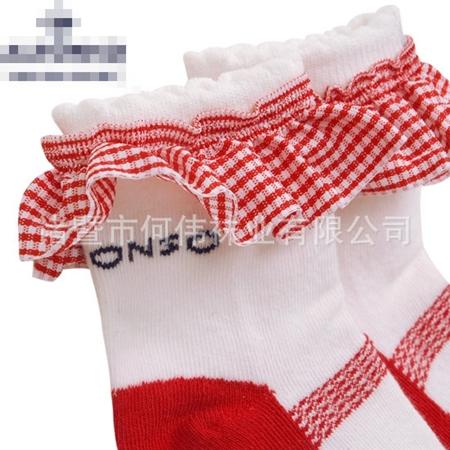 ถุงเท้าเด็กผู้หญิง คละแบบ (20 คู่ /pack)
