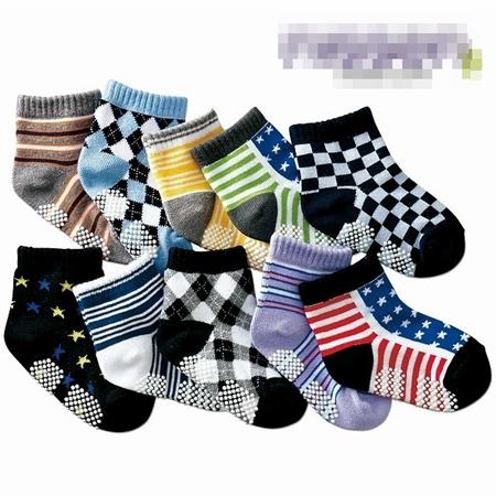 ถุงเท้าเด็กผู้ชายวินนี่ คละลาย (20 คู่ /pack)