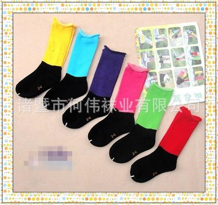 ถุงเท้าเด็กนีออน คละสี (20 คู่ /pack)