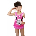 ชุดว่ายน้ำ-Minnie-Marine-สีชมพู-(4-ตัว/pack)