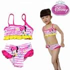 ชุดว่ายน้ำ-Minnie-in-Love-สีชมพู-(6-ตัว/pack)