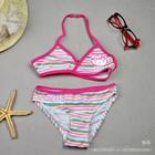 ชุดว่ายน้ำทูพีช-Kitty-Strip-สีชมพู-(6-ตัว/pack)