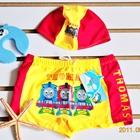 กางเกงว่ายน้ำ-Mr.THOMAS-สีเหลือง-(5-ตัว/pack)