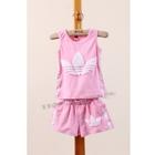 ชุดเสื้อกางเกง-ADIDAS-mini-สีชมพู-(5ตัว/pack)