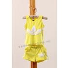 ชุดเสื้อกางเกง-ADIDAS-mini-สีเหลือง-(5ตัว/pack)