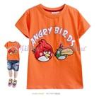 เสื้อยืดแขนสั้น-Angry-Bird-สีส้ม--(5size/pack)