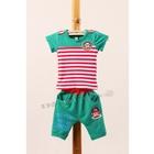 ชุดเสื้อกางเกง-Paul-Football-สีเขียว-(5ตัว/pack)