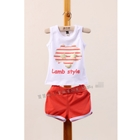 ชุดเสื้อกางเกง-LAMP-STYLE-สีส้ม-(5ตัว/pack)