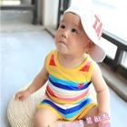 ชุดเสื้อกางเกง-Comme-Rainbow-สีเหลือง-(5ตัว/pack)