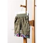 กางเกงสามส่วน-Mini-Bear-สีเขียวขี้ม้า-(5-ตัว/pack)