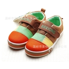 รองเท้าเด็ก-Benben-หลากสี-สีส้มน้ำตาล-(6-คู่/แพ็ค)