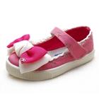 รองเท้าเด็กโบว์ใหญ่-สีชมพู-(6-คู่/แพ็ค)