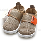 รองเท้าผ้าใบเด็ก-Bunldl-สีน้ำตาล-(6-คู่/แพ็ค)