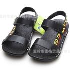 รองเท้าเด็กแตะเด็กสายคาด-สีดำ-(5-คู่/แพ็ค)