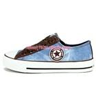 รองเท้าผ้าใบ-Star-สีฟ้า-(7-คู่/แพ็ค)