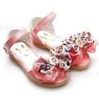 รองเท้าเด็กโบว์จุด-สีชมพู-(5-คู่/แพ็ค)