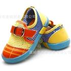 รองเท้าเด็กผ้าใบเด็กตาข่าย-สีส้มเหลือง(4-คู่/แพ็ค)
