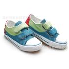 รองเท้าเด็กผ้าใบ-Minimao-สีฟ้า-(6-คู่/แพ็ค)