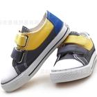 รองเท้าเด็กผ้าใบ-Minimao-สีเทา(6-คู่/แพ็ค)