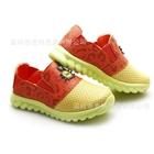 รองเท้าเด็กโลโก้แฉก-สีเหลืองส้ม-(6-คู่/แพ็ค)