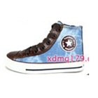 รองเท้าผ้าใบทรงสูง-Star-สีฟ้า-(7-คู่/แพ็ค)